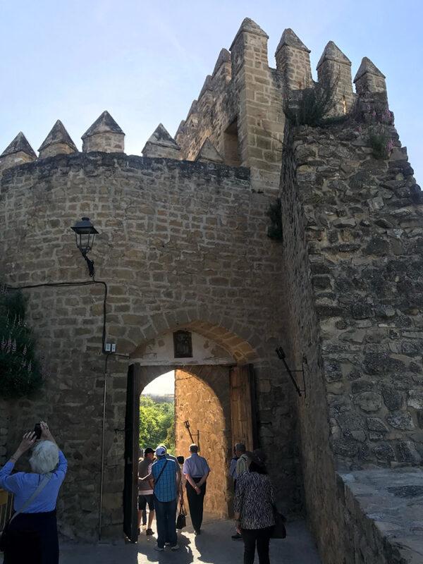 visita guiada castillo de sabiote populo