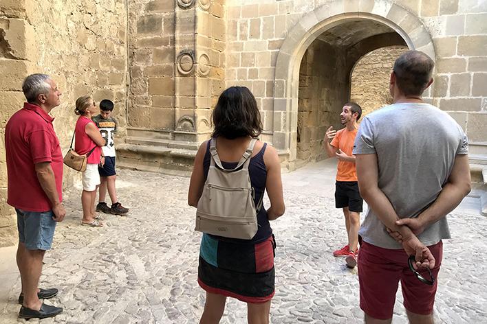 visita castillo de sabiote